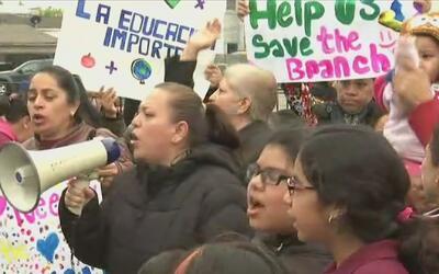 Luchan para evitar el cierre de la extensión de una escuela en el barrio...