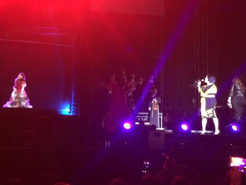 Holograma de Jenni Rivera en L Festival