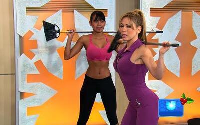 Aprende a usar las maquinas del gimnasio con Claudia Molina