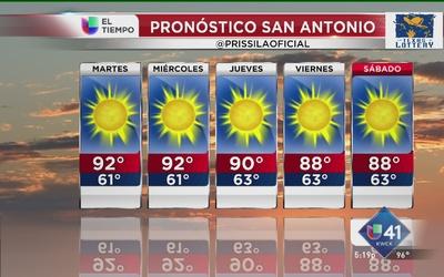 Semana despejada para San Antonio