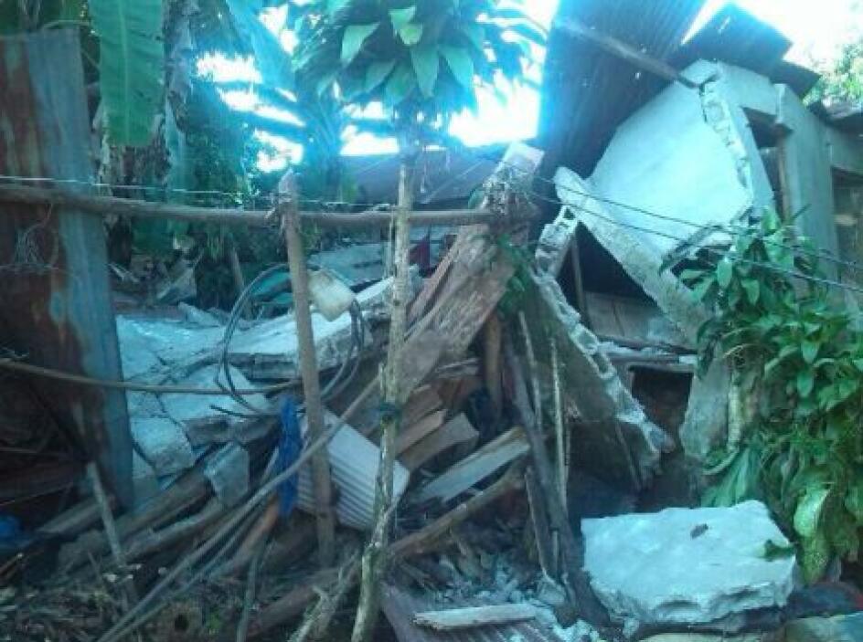 En Guatemala se reportaron dos muertos. Fotos de Twitter