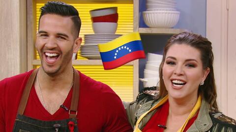 Doble sabor venezolano en la cocina con esta receta de Alicia Machado y...