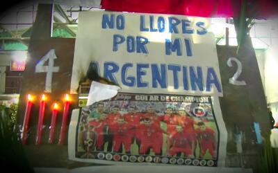 La llegada de Chile, campeones de América