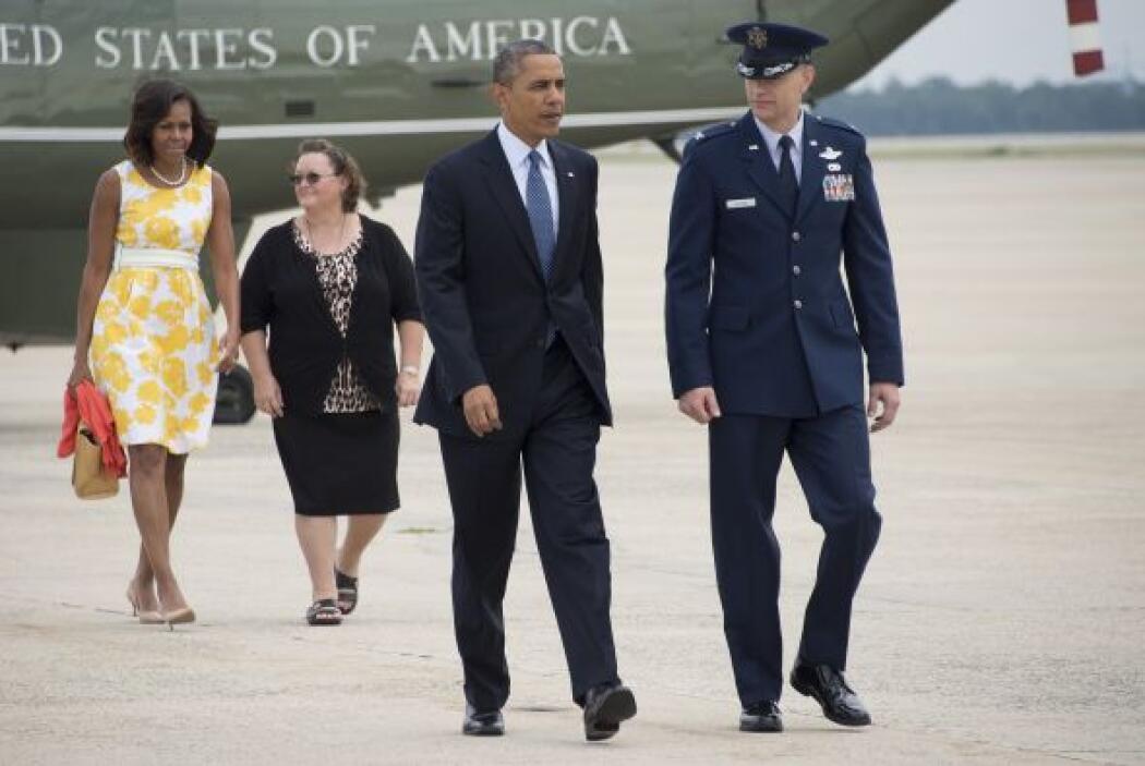 Obama planea regresar a Washington el 18 de agosto.