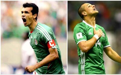 Jared Borgetti felicitó a Javier Hernández por igualarlo como máximo gol...