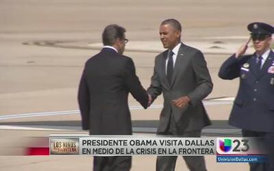 Obama y Perry se reunieron