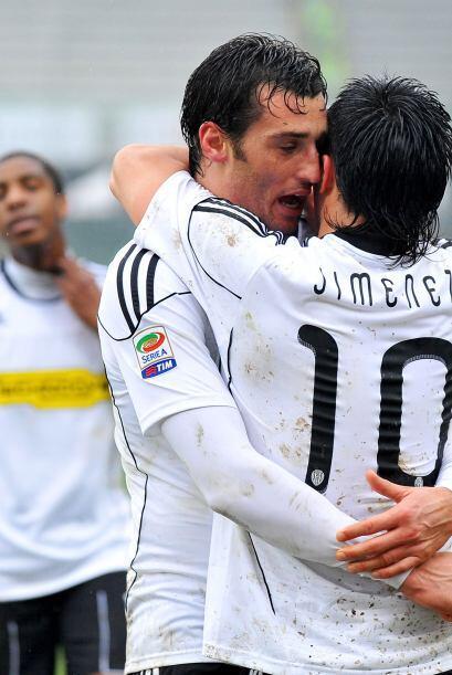 Huy, se puso candente el festejo entre Erjon Bogdani y Luis Jiménez del...