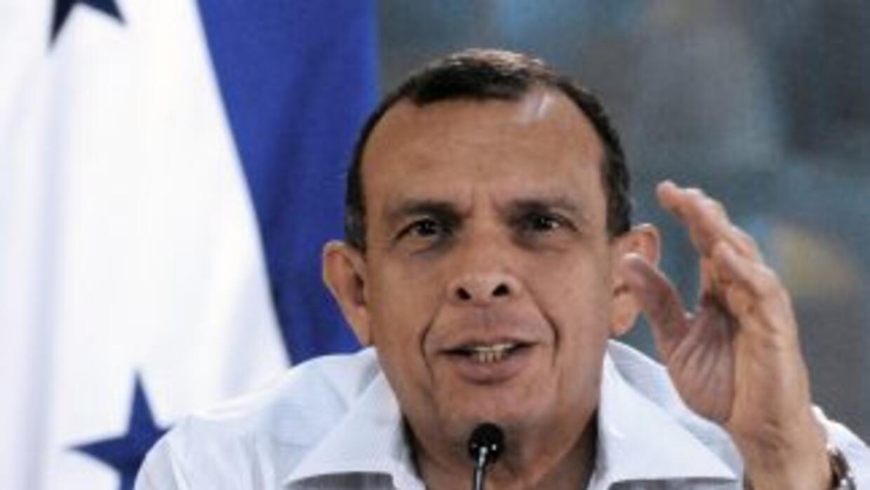 Porfirio Lobo, presidente de Honduras.