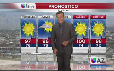 Tiempo: martes caluroso