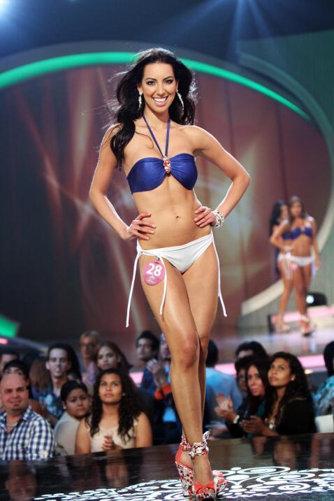 En el 2010 audicionó y en el 2012 se convirtió en la primera finalista a...
