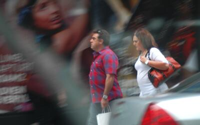 Francisco y Alejandra Salgado, captados por las autoridades federales, a...