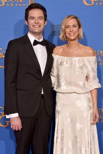 Bill Hader y Kristen Wiig