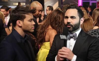 El Enrique Santos Show en la alfrombra magenta de Premio Lo Nuestro 2016...