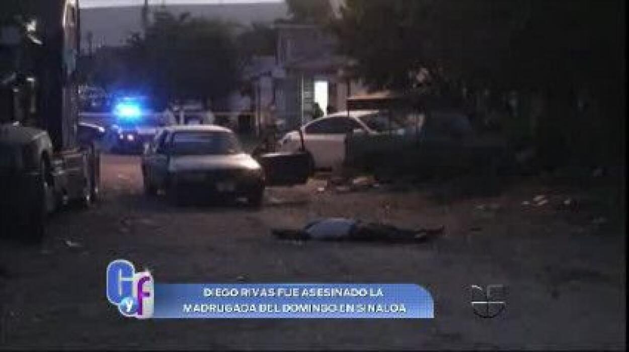 Diego Rivas, cantante de narcocorridos, fue asesinado en Sinaloa en novi...