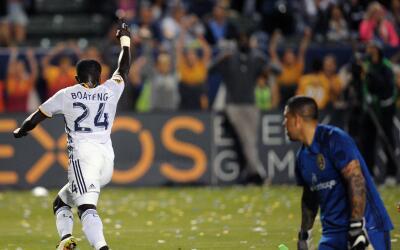 Emmanuel Boateng, LA Galaxy