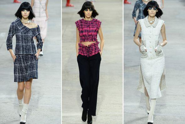 El diseñador Karl Lagerfeld presentó un desfile inspirado en el arte y l...