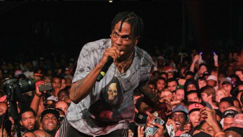 El rapero fue detenido tras incitar al desorden.