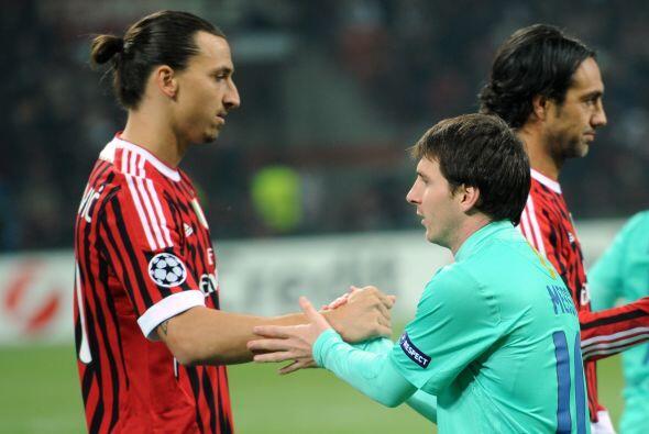 Llegó el segundo capítulo del duelo Barcelona-Milan en la...