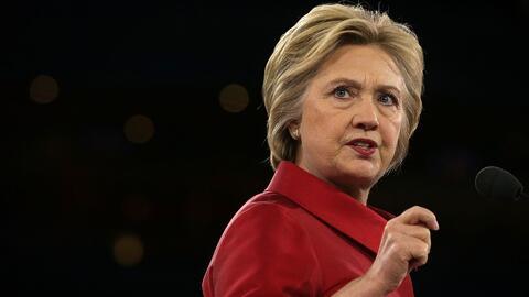 Clinton ataca posición neutral de Trump sobre Israel
