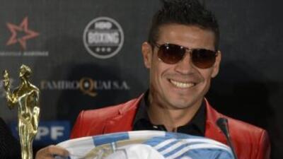 El argentino es campeón del CMB.