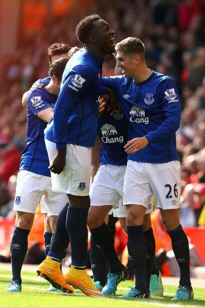 Al final, Everton empató en el tiempo agregado y Lukaku se mofó de esta...
