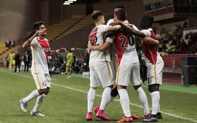 Mónaco venció al Angers en el cierre de la jornada 12
