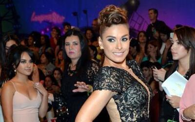 La presentadora de la noche, la bellisíma Galilea Montijo.