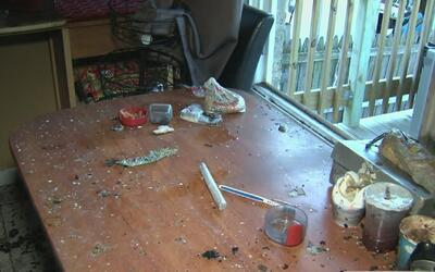 La policía investiga un cultivo de marihuana hallado en una residencia e...