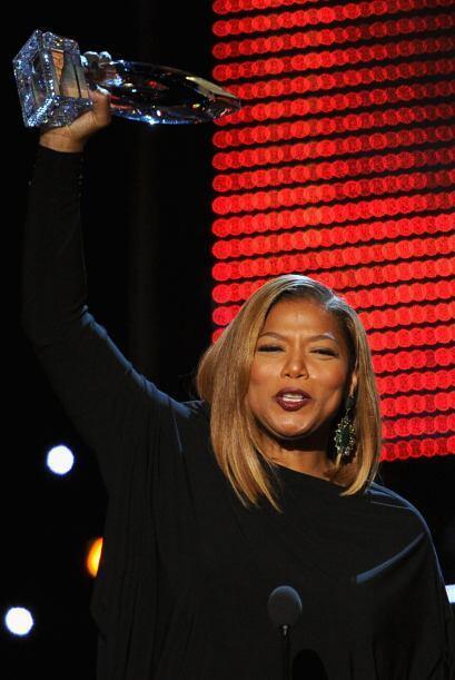 Queen Latifah ganó en la categoría de Nueva conductora de...