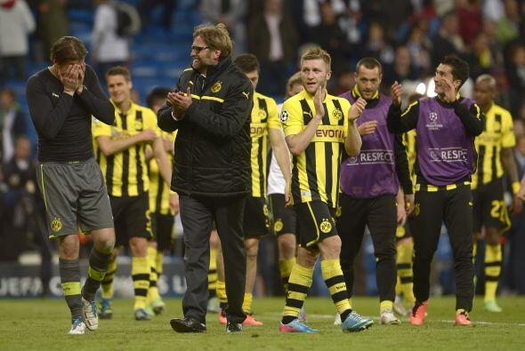 Aunque sufriendo hasta el último momento, pero el Borussia Dortmund es e...