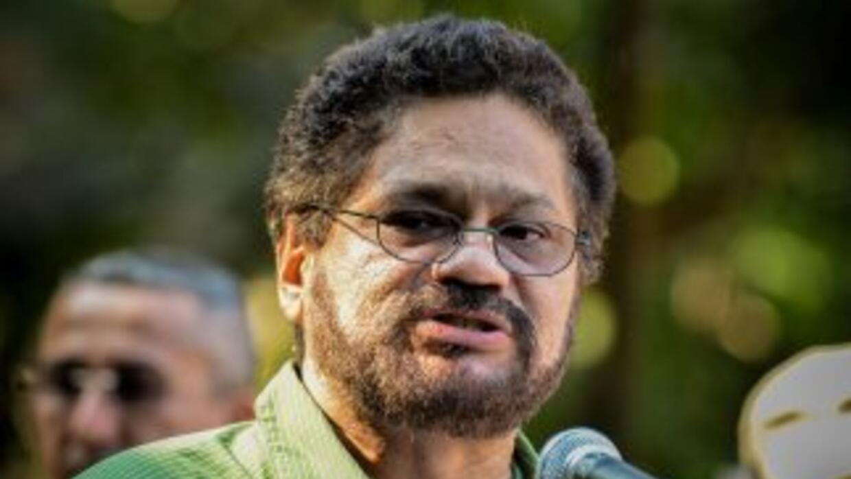 Iván Márquez, jefe negociador de las FARC.
