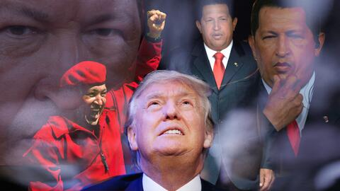 Al igual que sucedía con Hugo Chávez, Donald Trump maneja mal las crític...