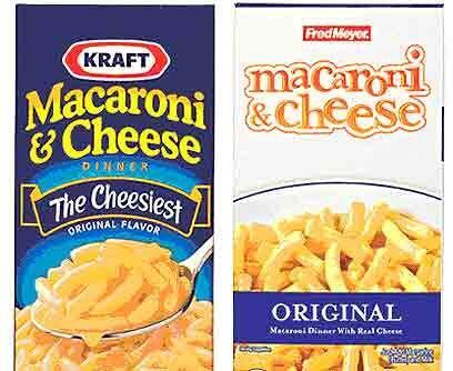 4. Kraft contra Fred MeyerVeredicto: Empate.Las diferencias son mínimas....