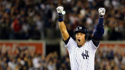 Jeter conectó el hit que le dio el triunfo a los Yankees sobre Baltimore.