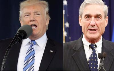 Trump reacciona ante el nombramiento de Robert Mueller para investigar s...