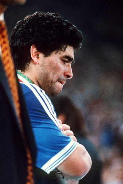 Diego Maradona está sin duda entre los tres mejores futbolistas e...