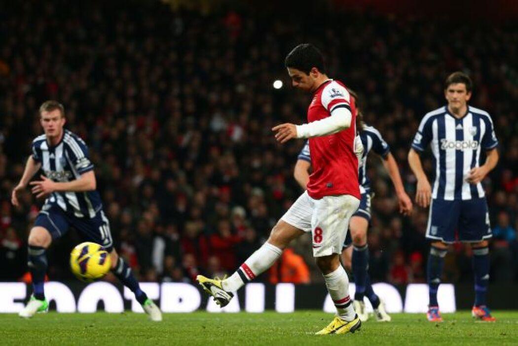 El jugador vasco del Arsenal fue el líder de su club en el triunfo ante...