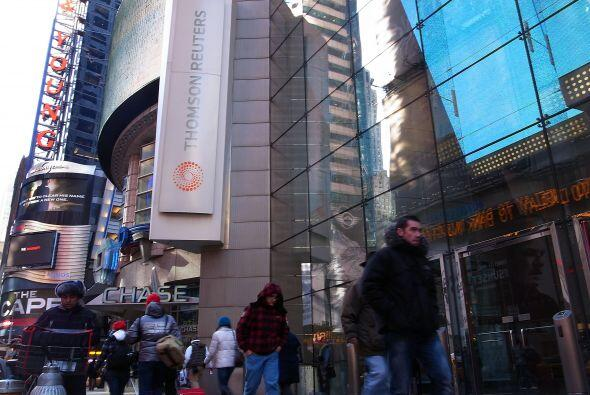 Posibles causas: Thomson Reuters solía ser un jugador dominante como inf...