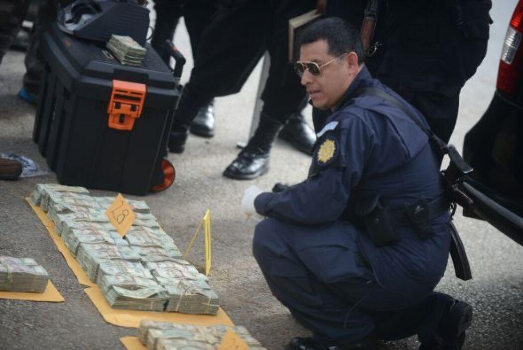 Las fuerzas de seguridad de Guatemala capturaron en marzo a 21 personas,...