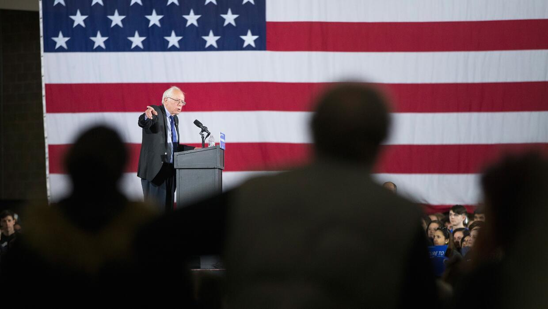 Bernie Sanders en Wisconsin