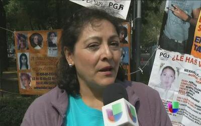 Madres mexicanas en busca de sus hijos desaparecidos
