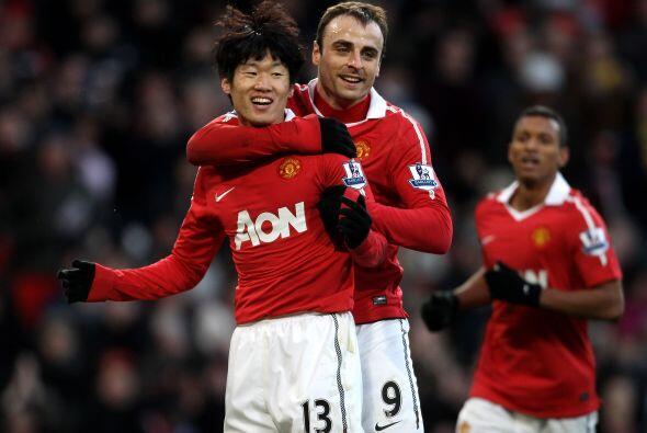 Manchester United se mantiene como invicto ya que goleó al Blackb...