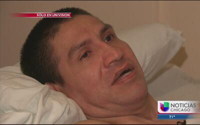 Hombre latino que salvó a un niño de morir, ahora lucha por su vida