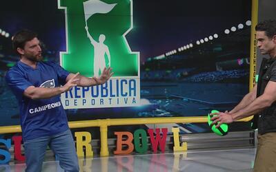 Juan Vidal se vistió de quarterback e hizo 600 puntos en el juego de tir...
