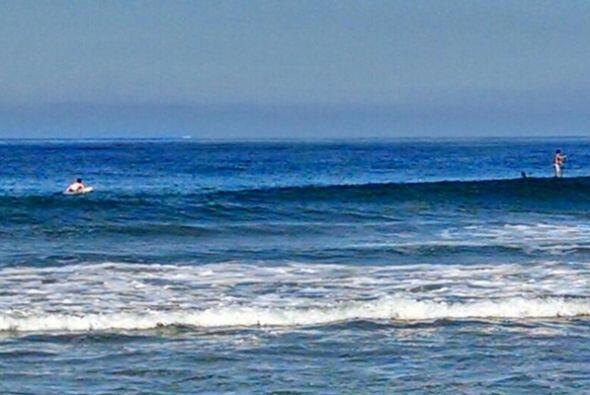 Robles y sus acompañantes estaban a dos millas de la playa cuando sucedi...
