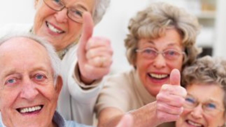 Después del período de entrenamiento, la fuerza de los ancianos aumentó...