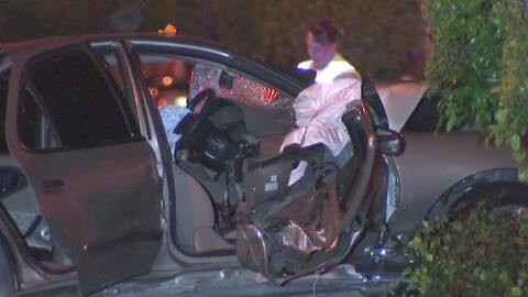 Una violenta fuga vehicular tuvo un desenlace fatal en Paramount
