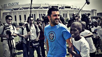 De Tuilla a Nueva York, David Villa se consagra como goleador