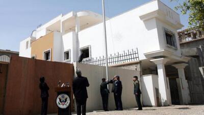Evacua embajada de Estados Unidos en Libia