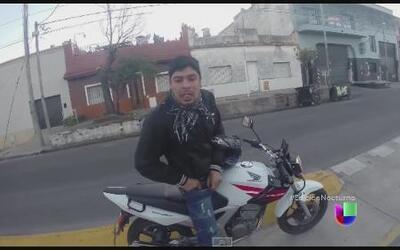 Asaltante es captado en cámara durante robo